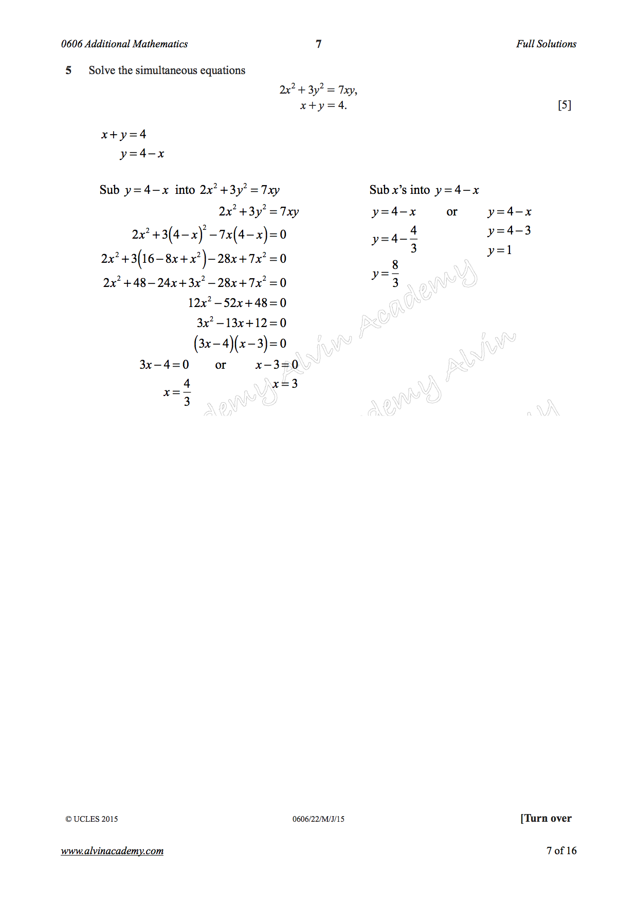 0606/22/M/J/15 | Alvin Academy | Page 2