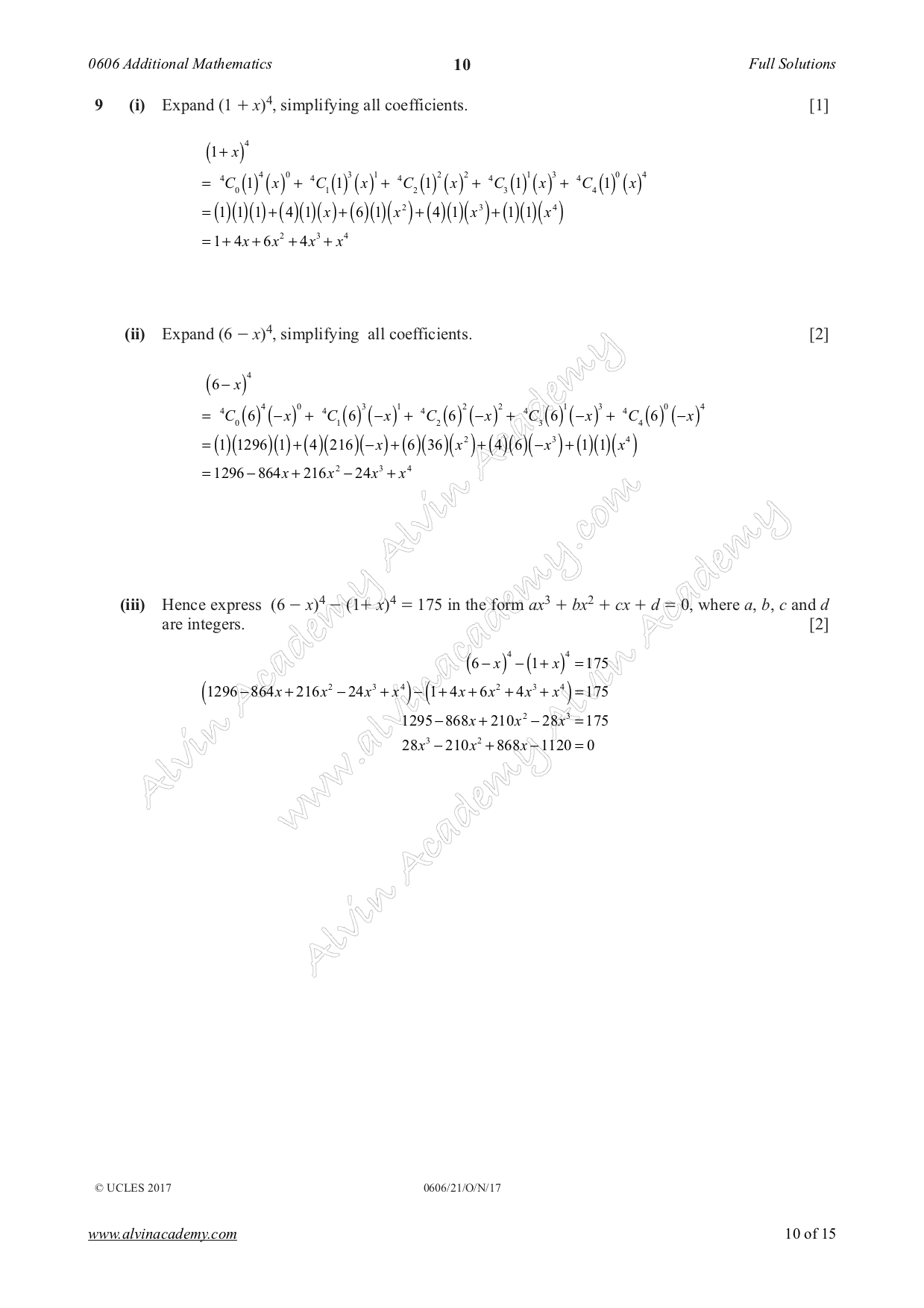 Alvin Academy   Learning Mathematics   Page 3